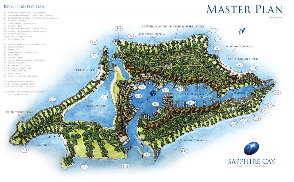 Sapphire Cay 2011 Conceptual Master Plan
