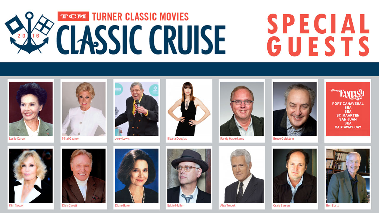TCM Classic Cruise 2016 Special Guests