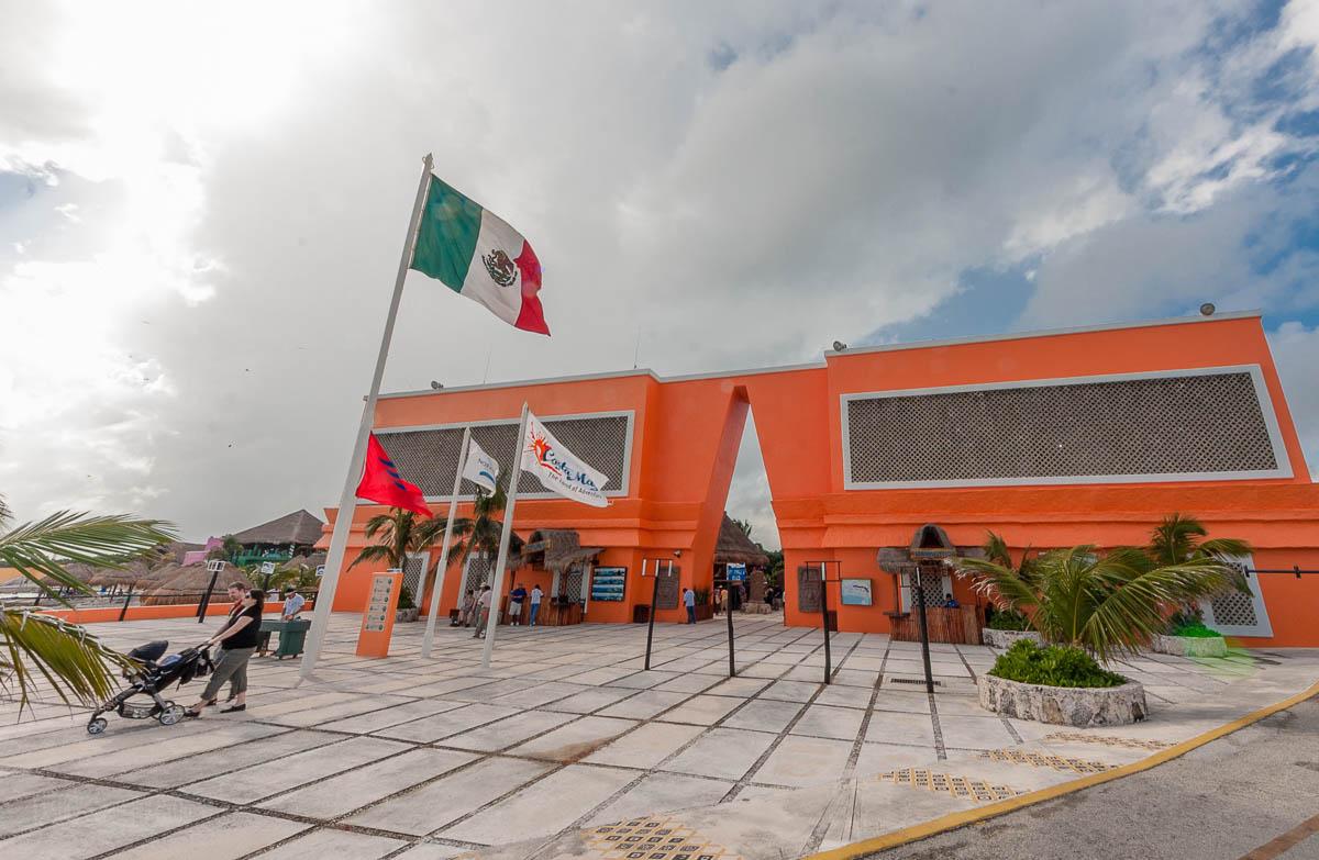 Costa Maya Mexico Port Entrance