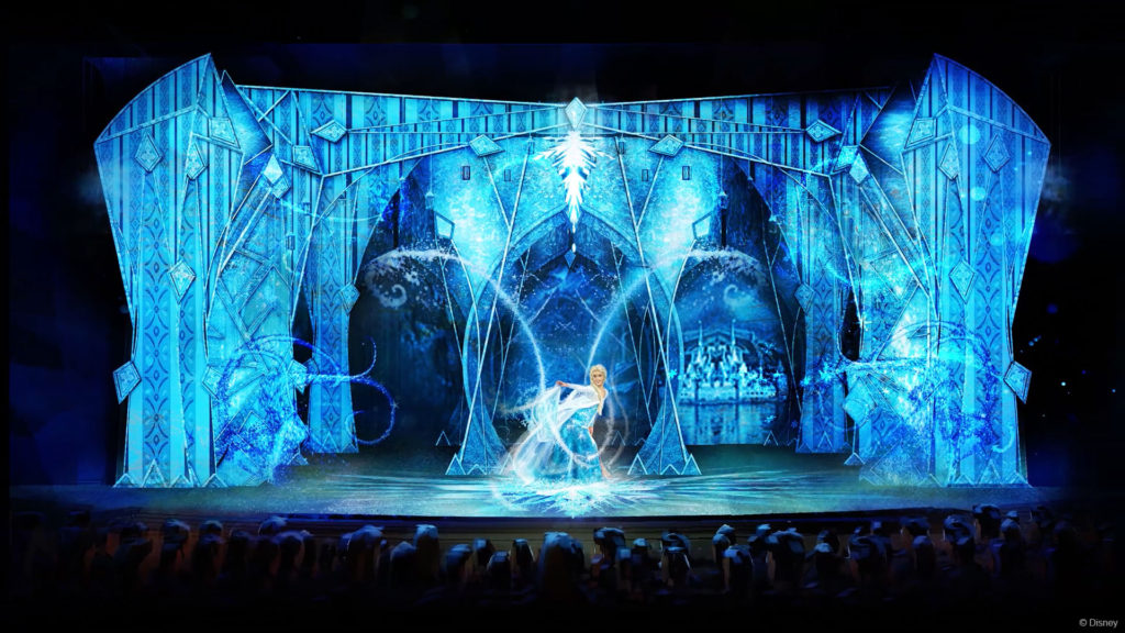 DW Frozen Elsa Let It Go Stage Concept