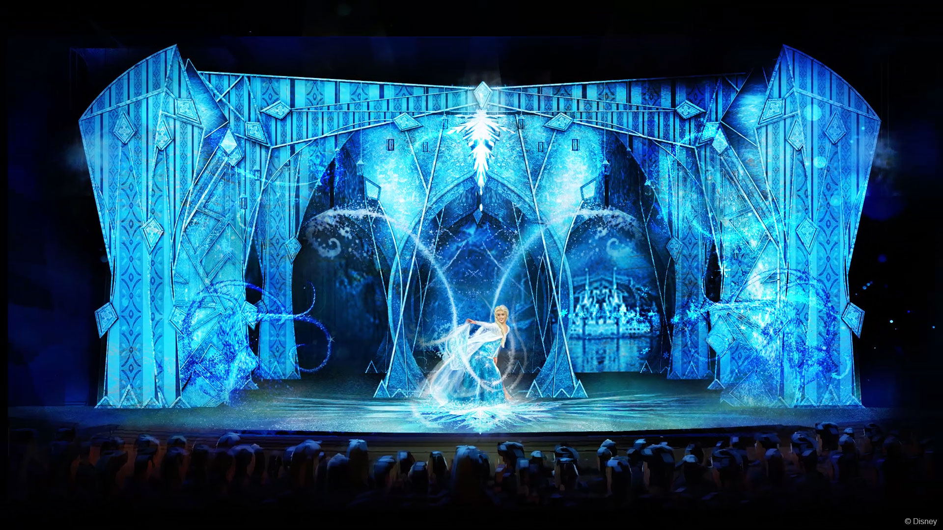DW Frozen Elsa Let It Go Stage Concept