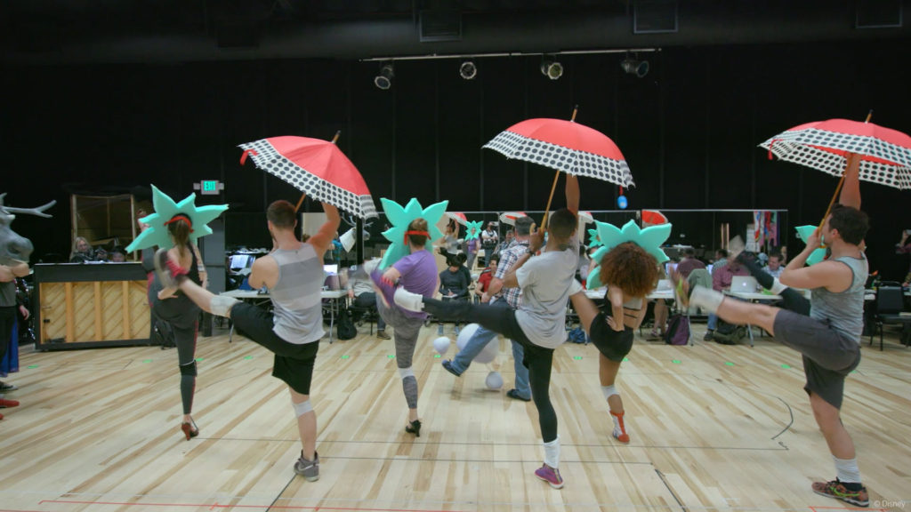 DW Frozen In Summer Rehearsal