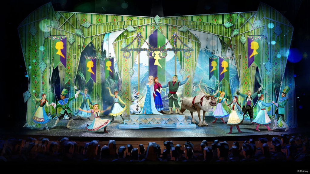 DW Frozen Stage Concept