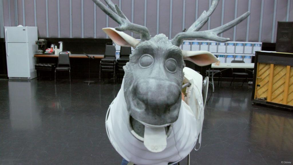 DW Frozen Sven Rehearsal