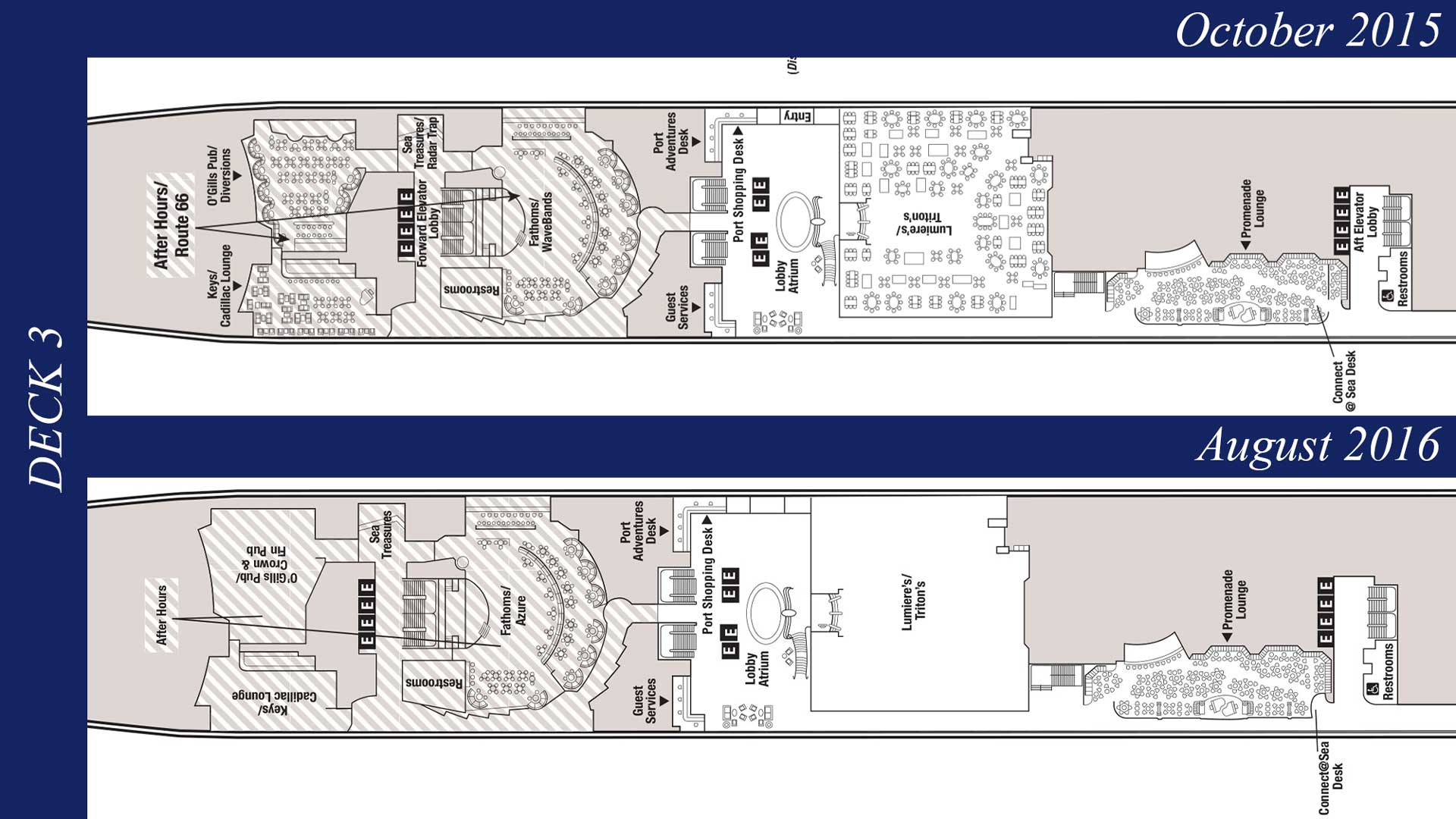 Revised deck plans reveal additional disney wonder for Deck plans online