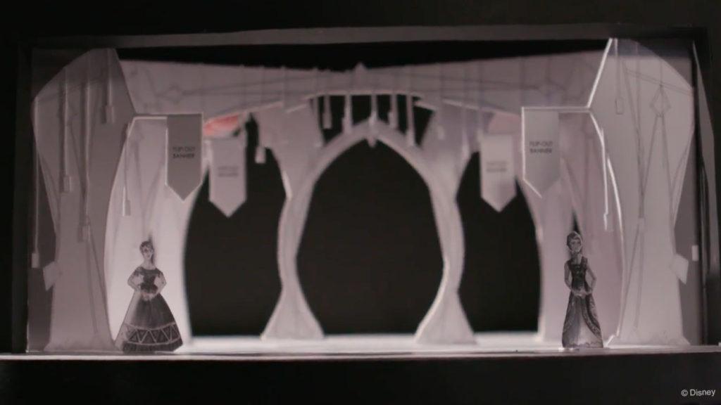 Frozen Stage Diarama