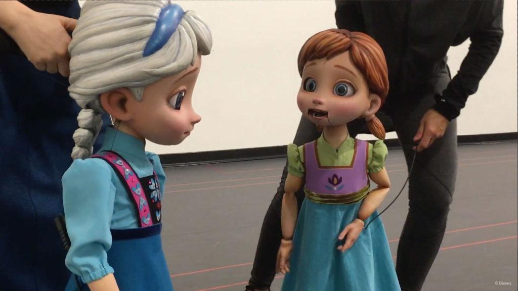 Frozen Young Anna Elsa Puppets 2