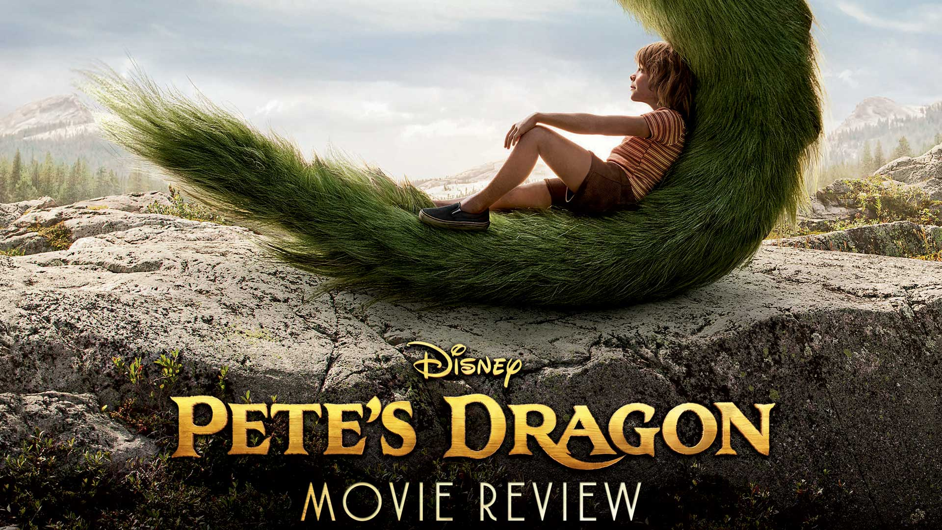 Pete's Dragon 2016 Movie Review