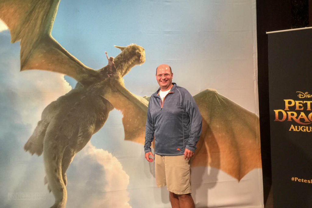 Pete's Dragon Meet Up Photo Op