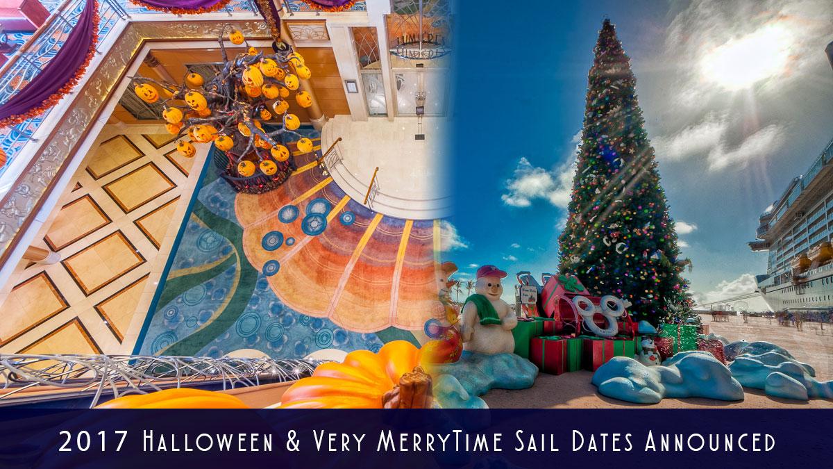 2017 Holiday Sail Dates