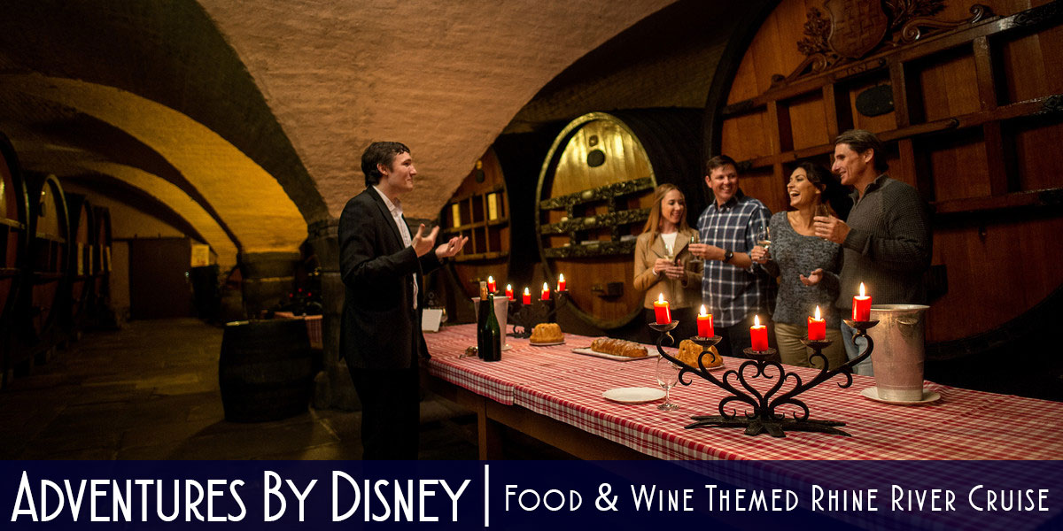 Adventures By Disney Offering a Food & Wine Themed Rhine River Cruise in 2017 • The Disney Cruise Line Blog