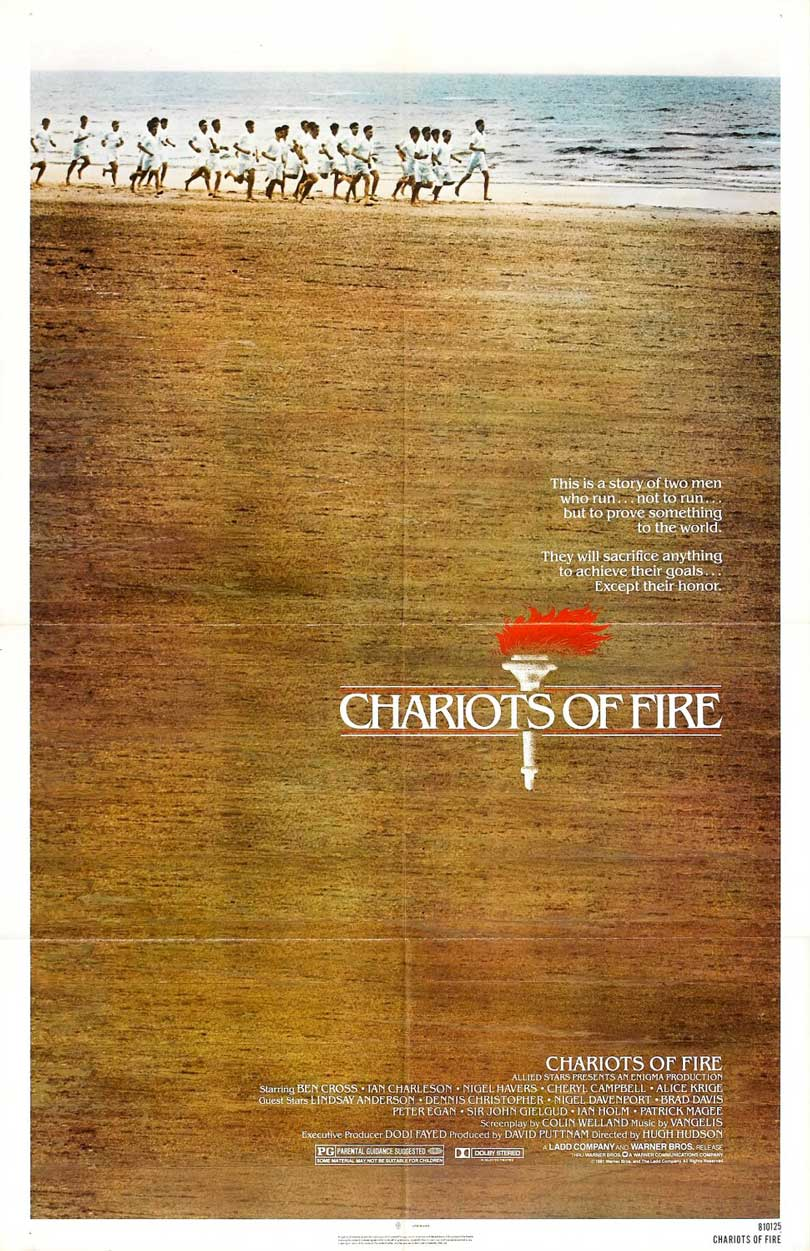 Chariots Of Fire Movie Poster