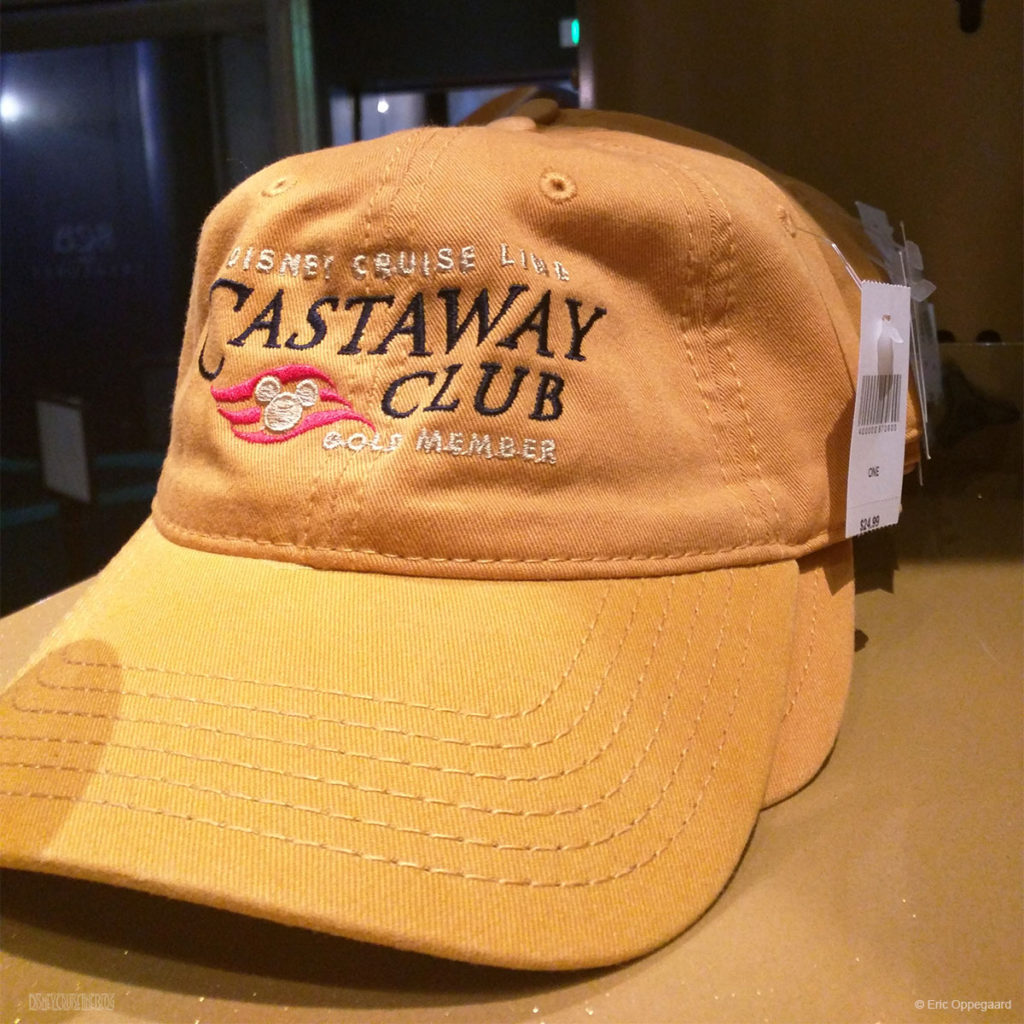 DCL Castaway Club Hat Gold
