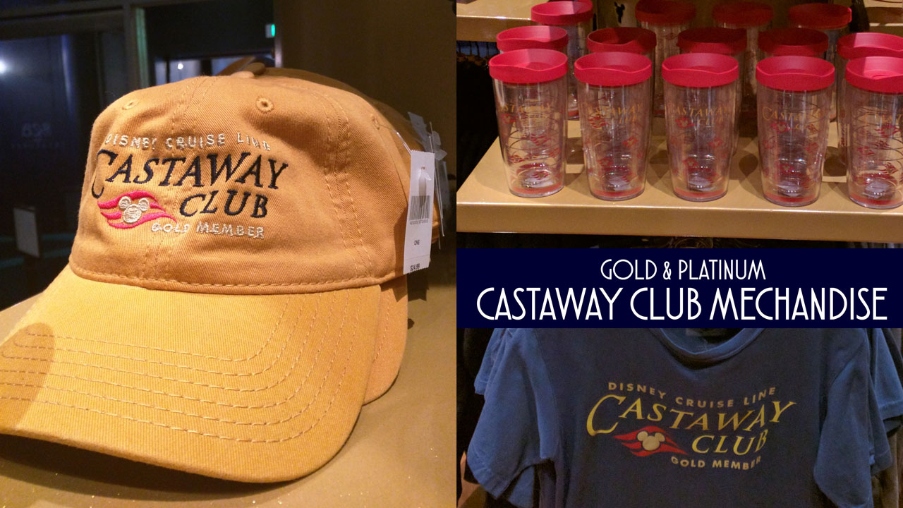 DCL Castaway Club Merchandise Debut