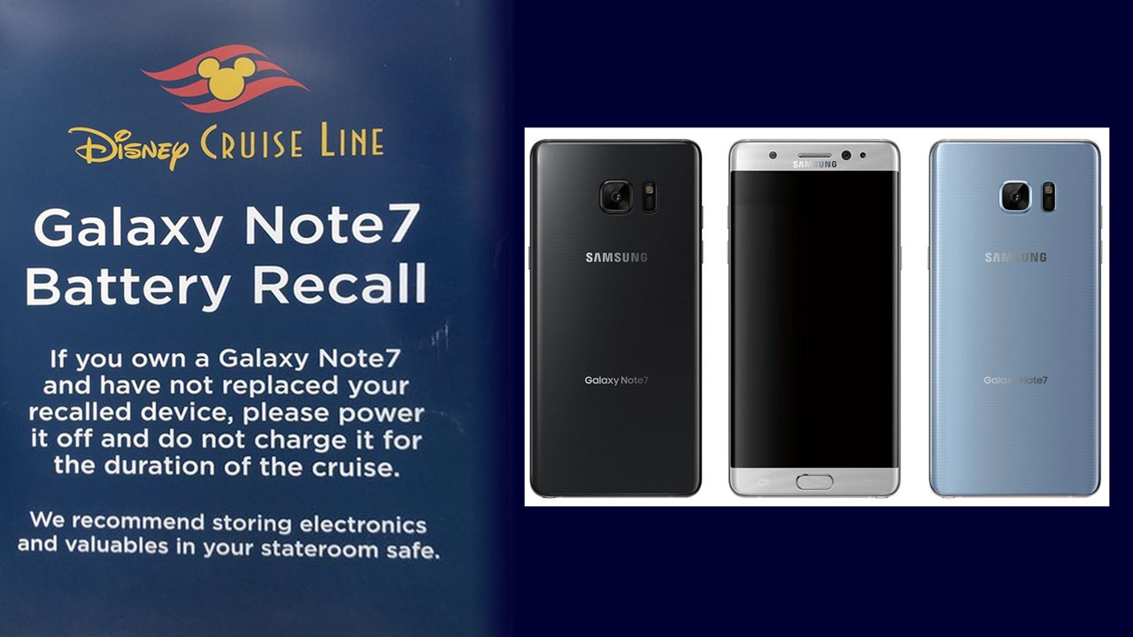 DCL Galaxy Note 7 Warnin