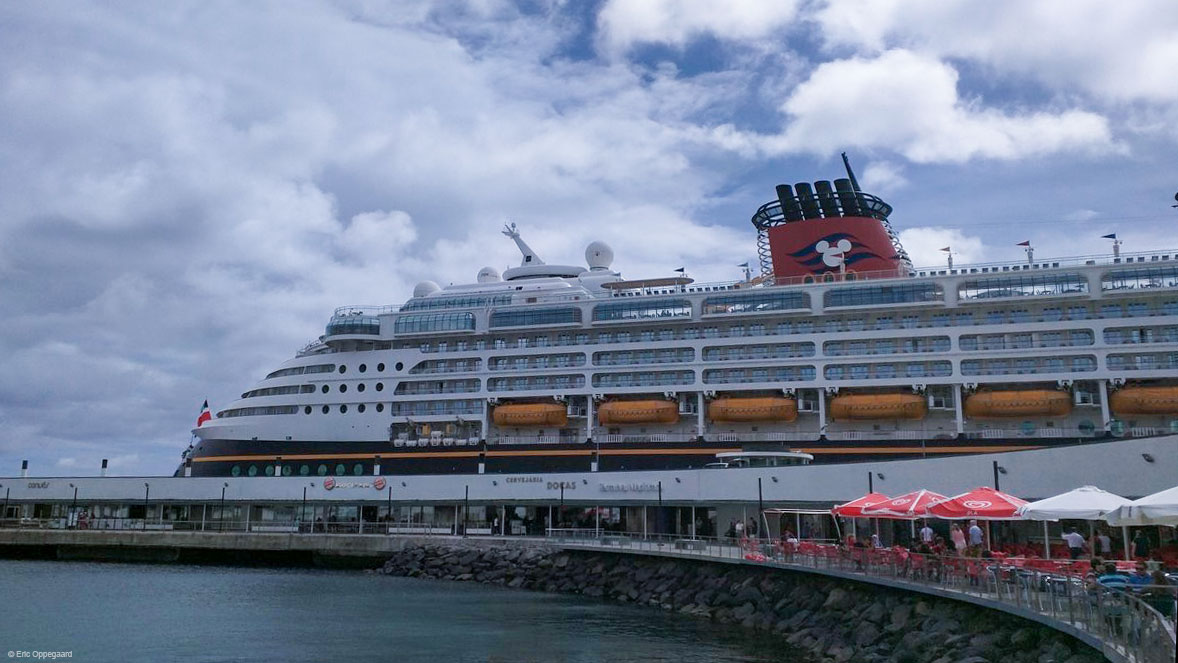 Disney Magic Inagural Call Ponta Delgada September 2016