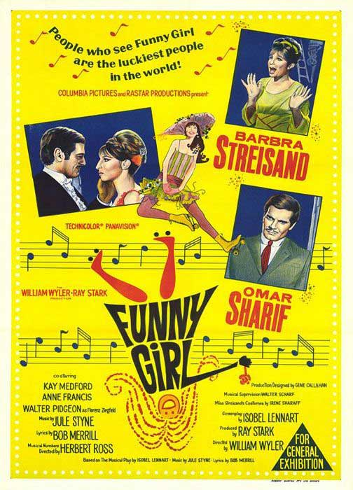 Funny Girl Movie Poster