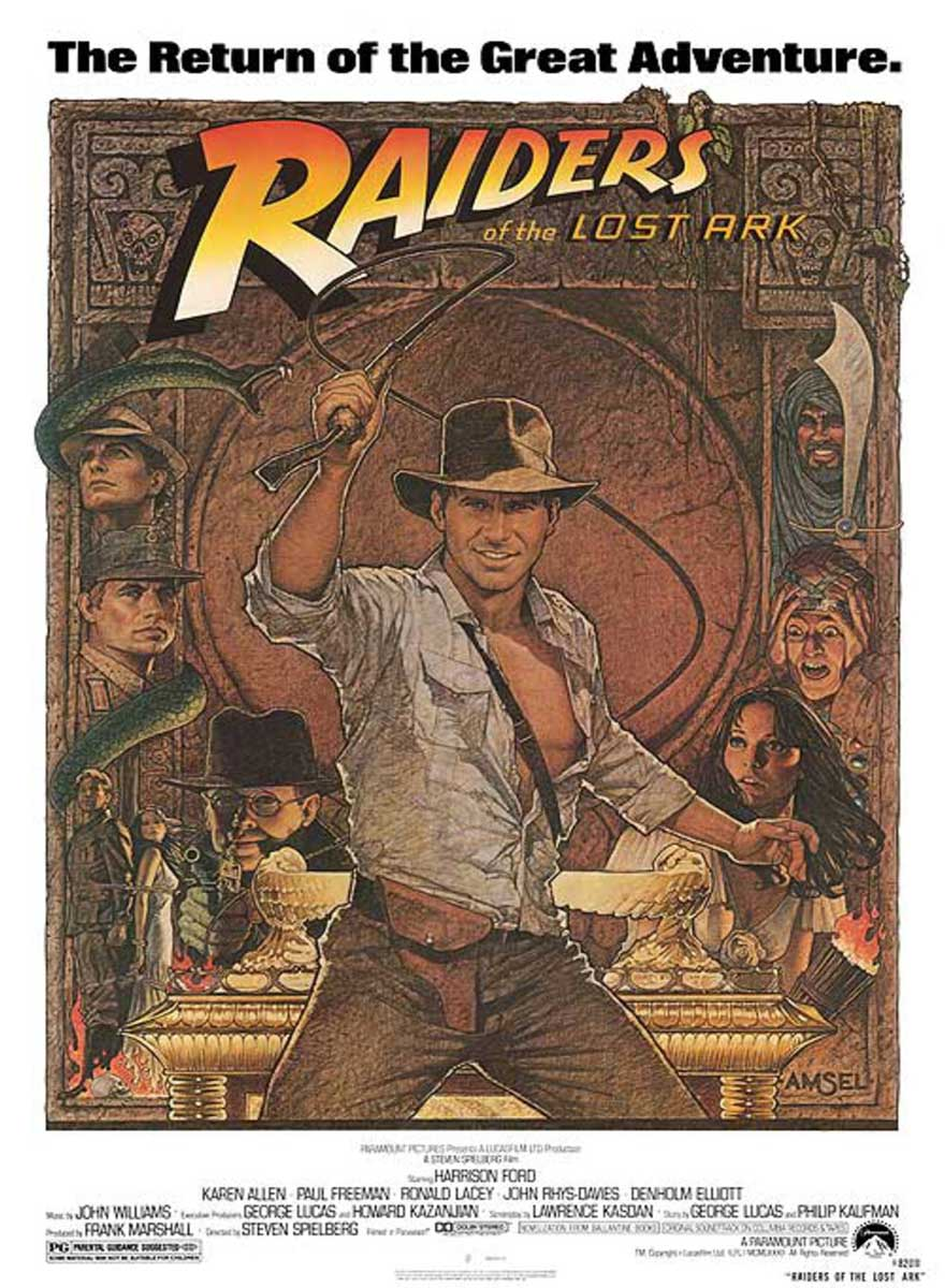 Indiana Jones Raiders Of The Lost Ark Movie Poster