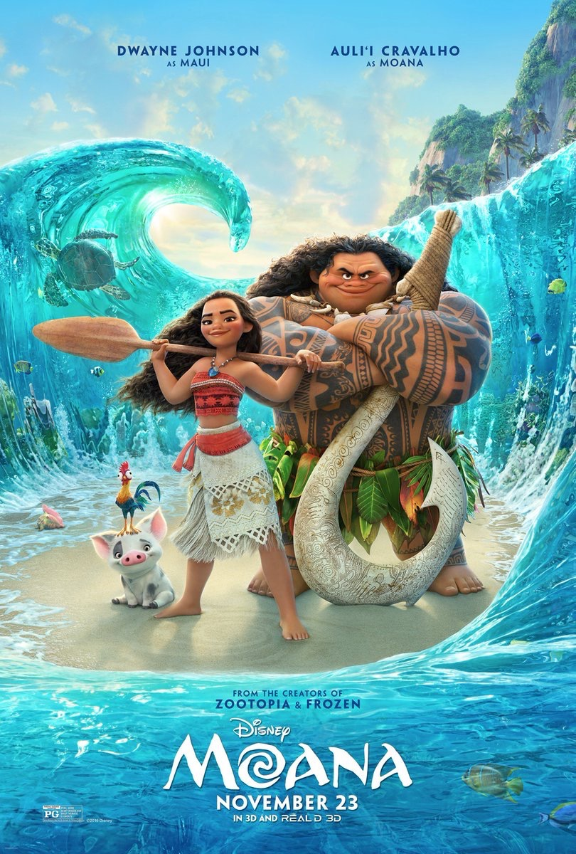 Moana Movie Poster Final
