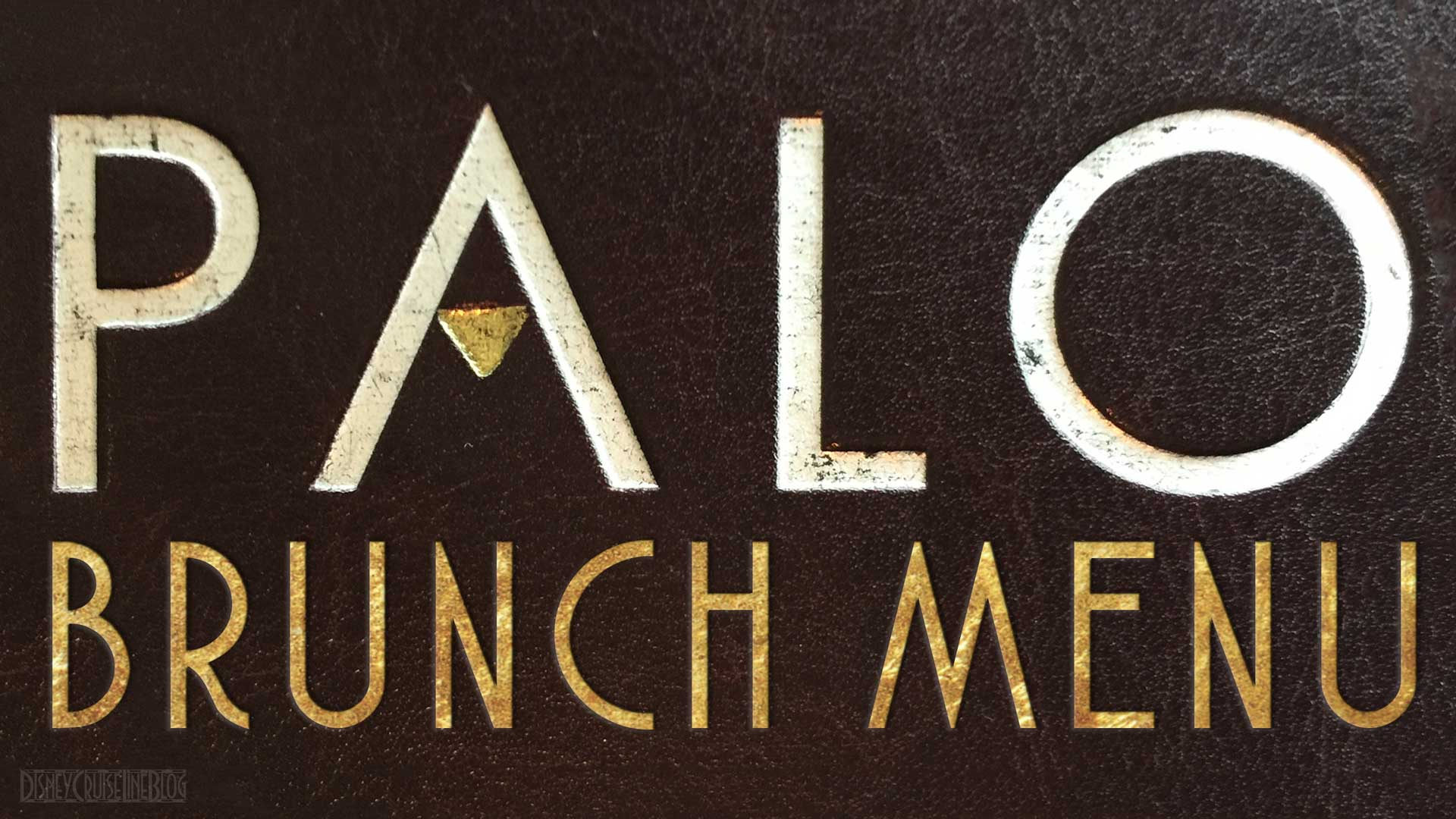 Palo Brunch Menu