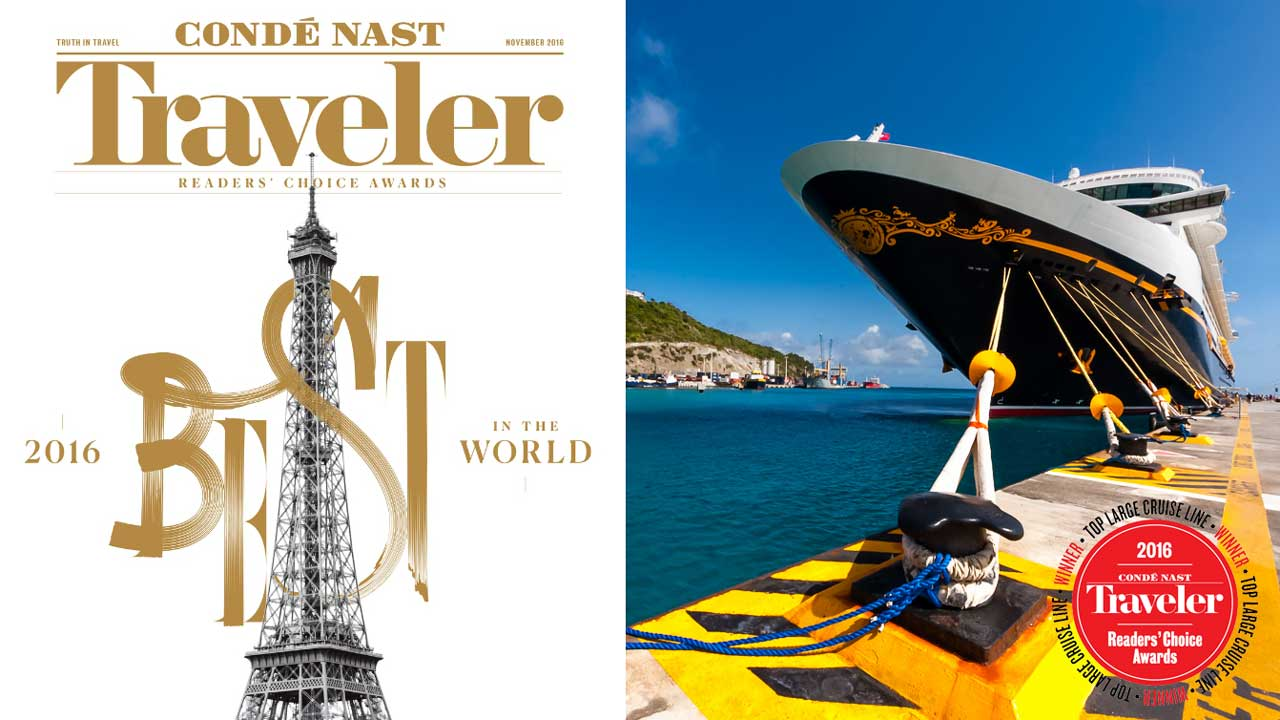 Conde Nast 2016 Reader World Best Awards DCL