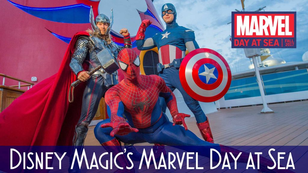 DCL Marvel Day At Sea