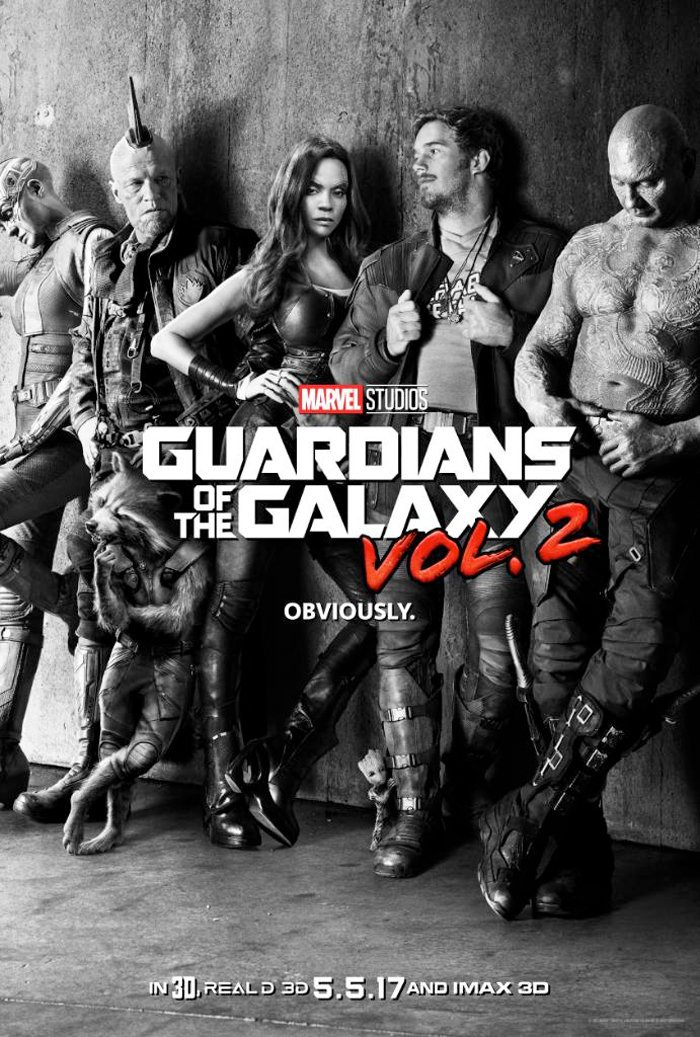 Guardians Of The Galaxy 2 Teaser Movie Poster