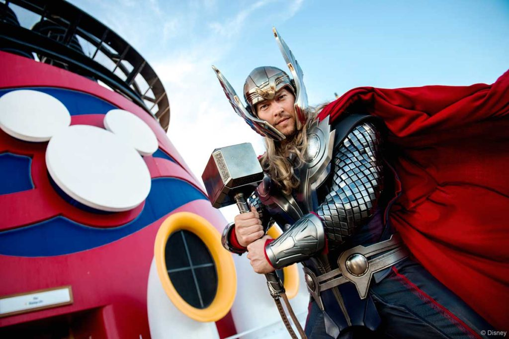 Marvel Day At Sea Thor 1