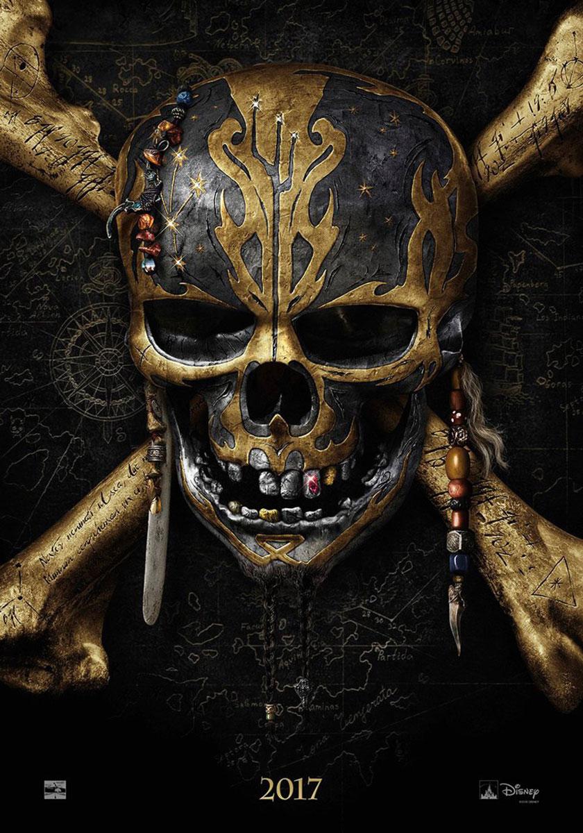 POTC Dead Men Tell No Tale Teaser Movie Poster