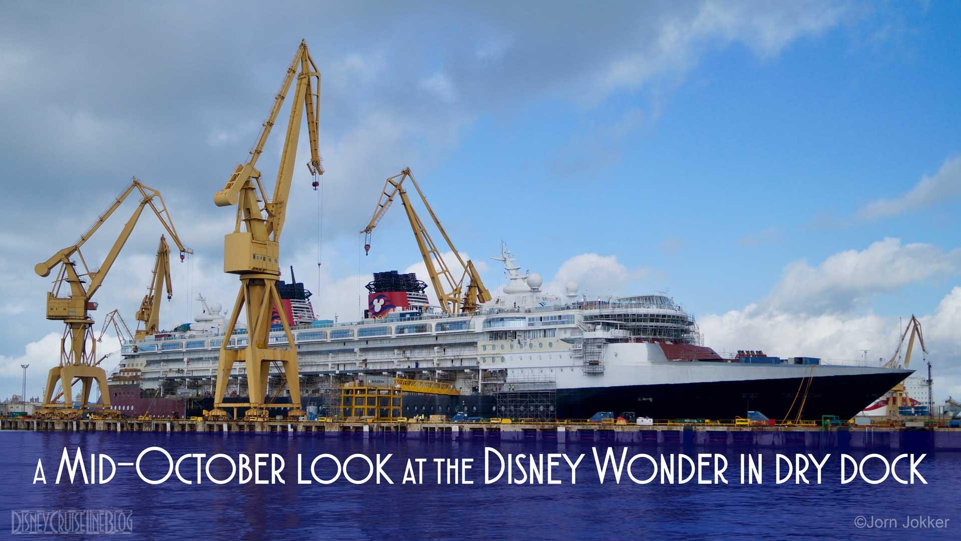 Wonder Dry Dock 2016 Cadiz Mid October Update
