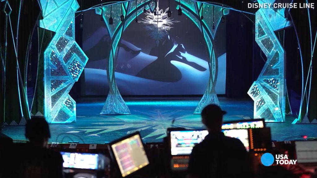Wonder Dry Dock 2016 USAToday Frozen Set Chandelier