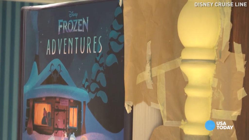 Wonder Dry Dock 2016 USAToday Oceaneer Club Frozen Adventures