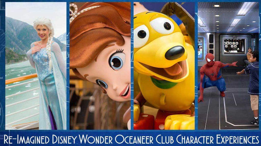 Wonder Oceaneer Club Character Experiences
