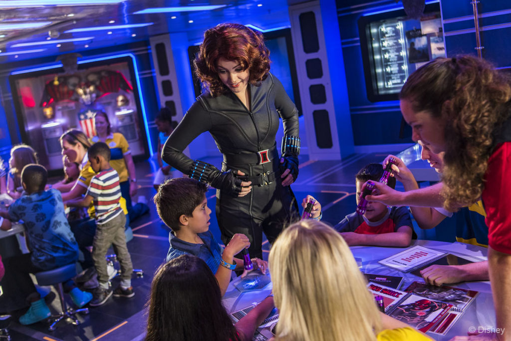 Marvel Super Hero Academy Black Widow