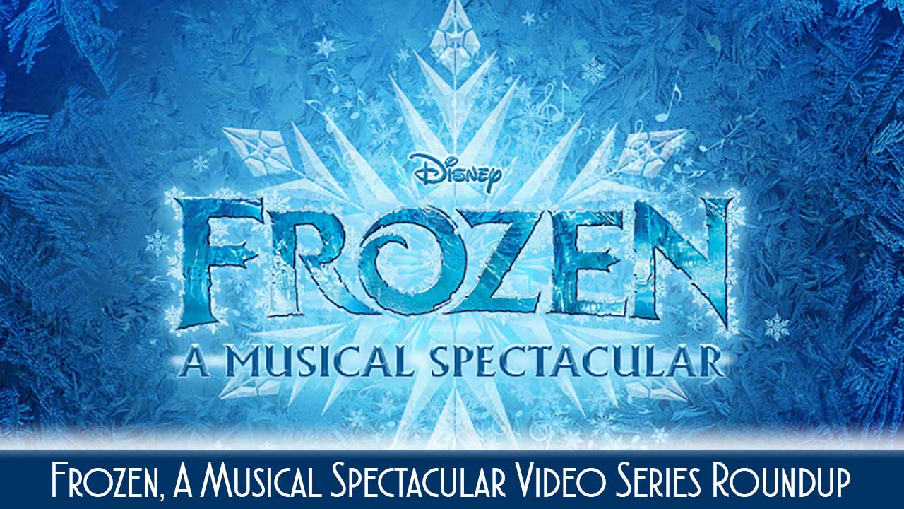 Frozen Video Roundup Disney Wonder