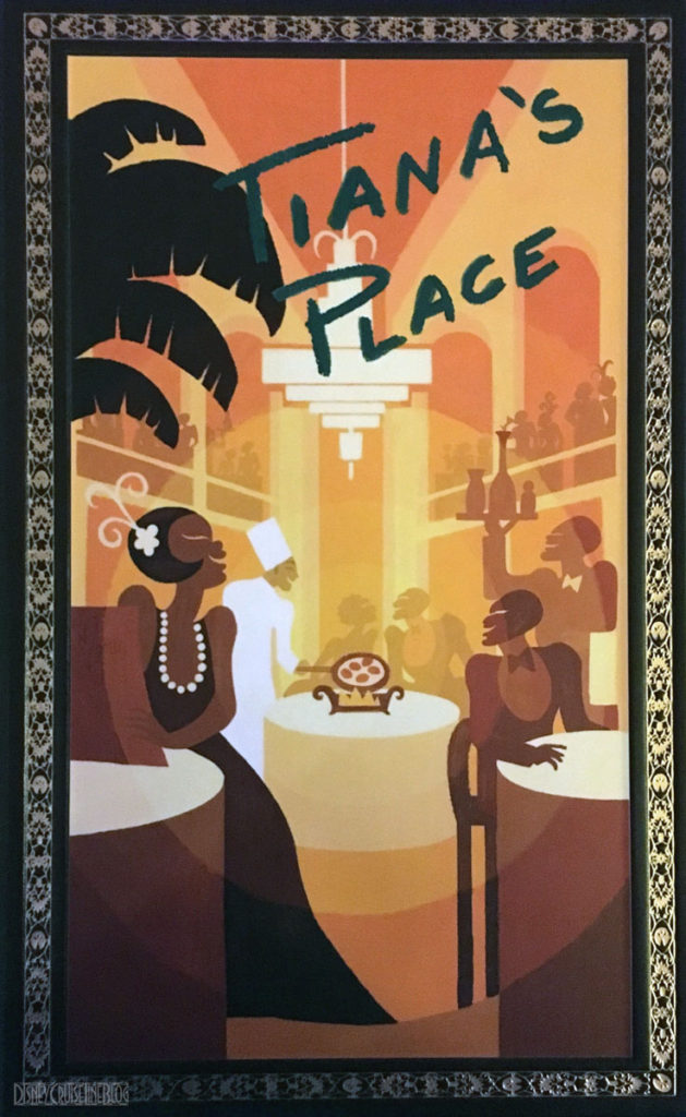 Tiana's Place Menu Cover Wonder December 2016