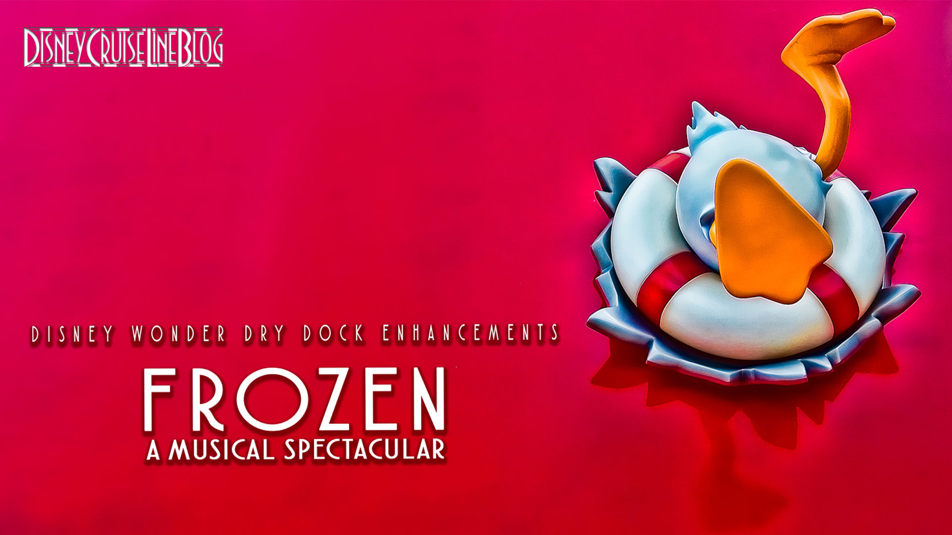 Wonder Dry Dock Enhancements Frozen Musical Video