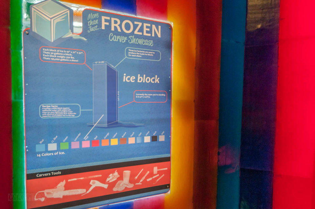 Gaylord Palms ICE Peanuts 2016 Ice Carving Studio Info