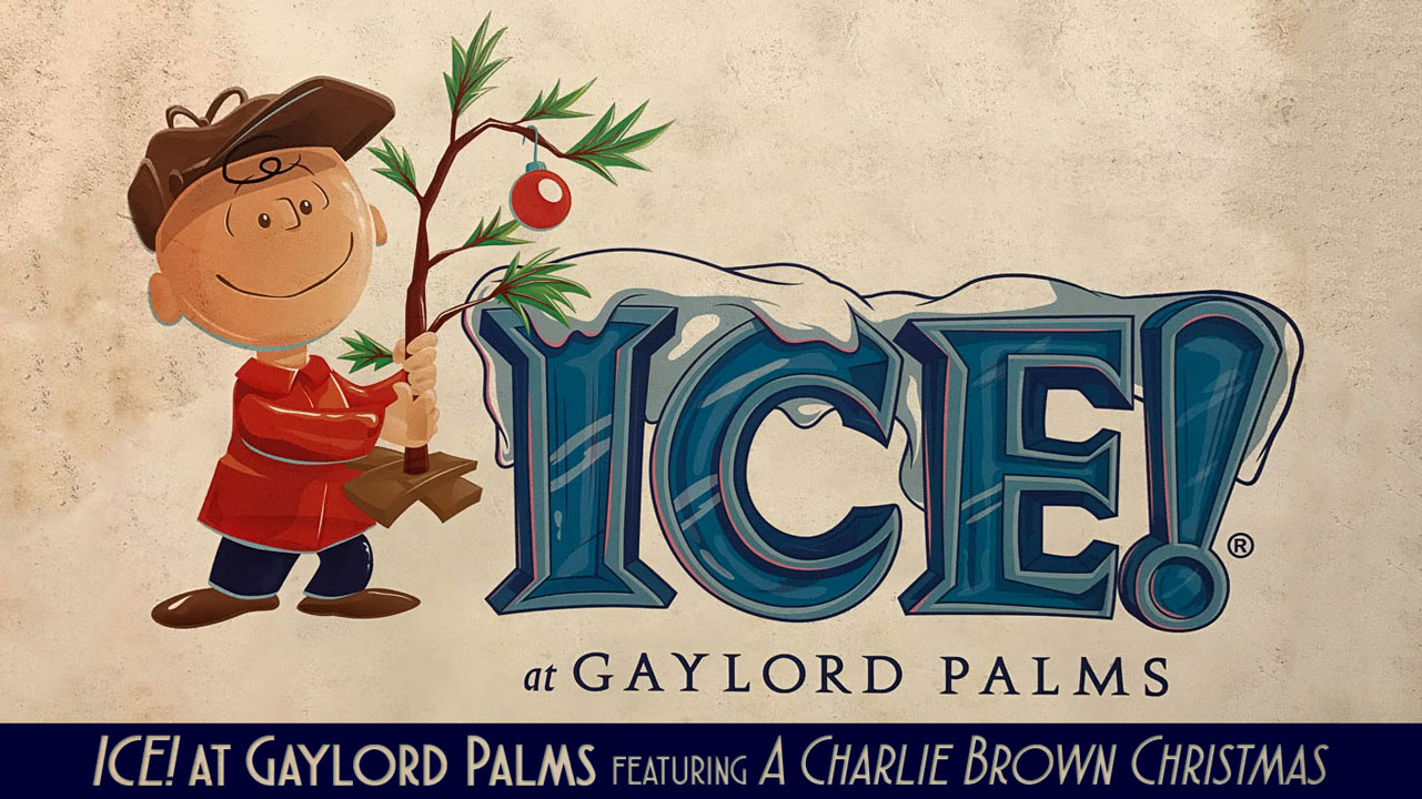 Gaylord Palms ICE Peanuts 2016 Logo