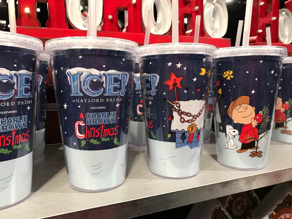 Gaylord Palms ICE Peanuts 2016 Merchandise