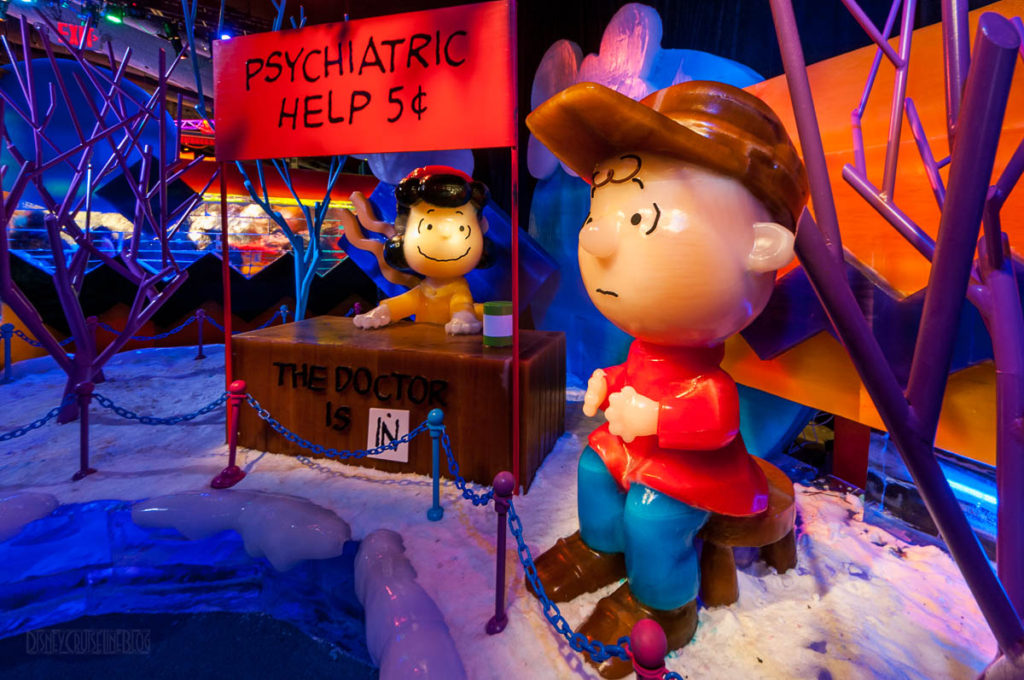 Gaylord Palms ICE Peanuts 2016 Psychiatric Help Booth