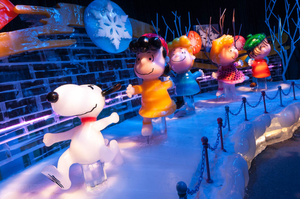 Gaylord Palms ICE Peanuts 2016 Snoopy And The Gang