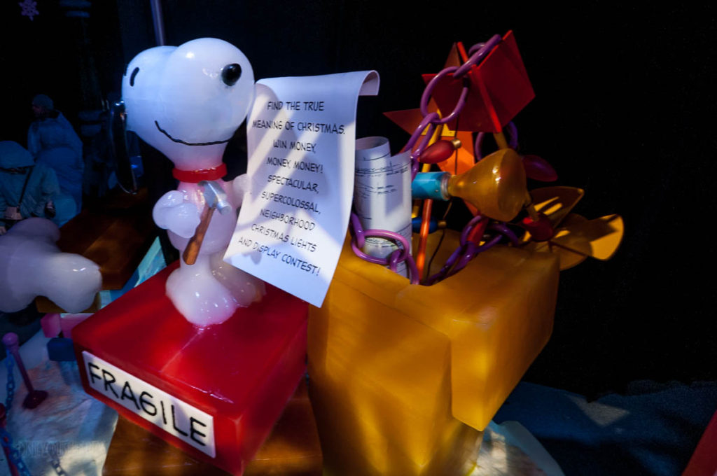 Gaylord Palms ICE Peanuts 2016 Snoopy's Meaning Of Christmas