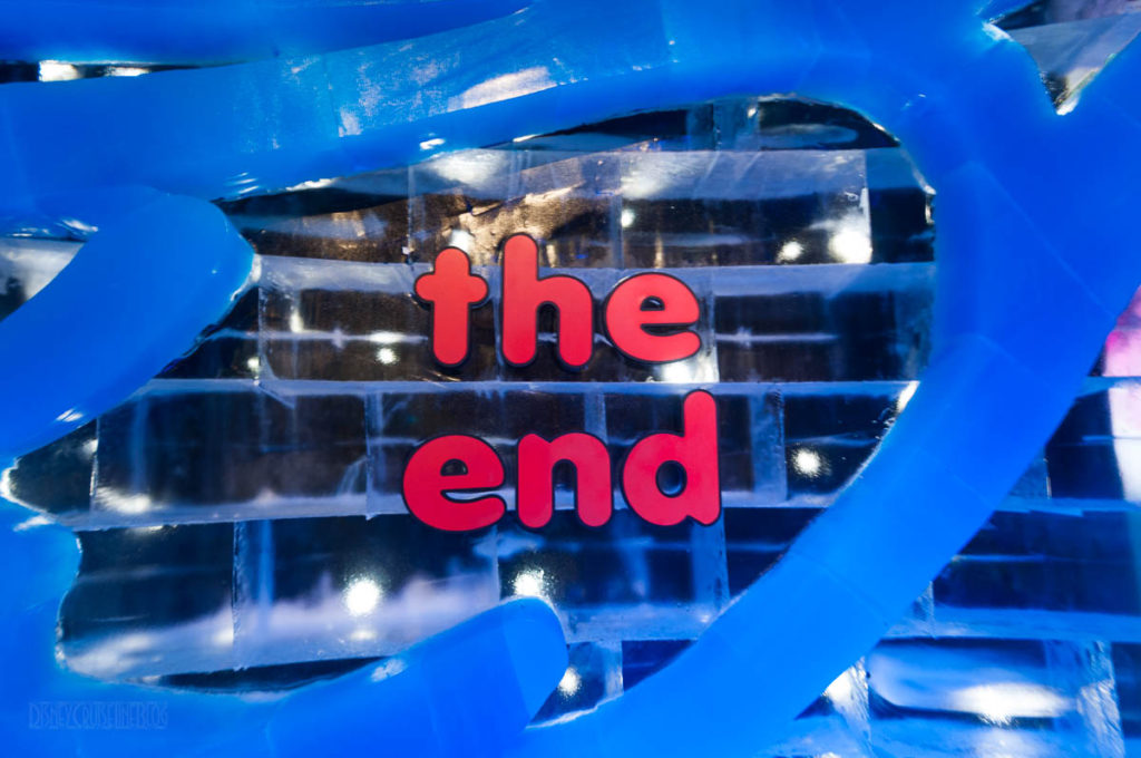Gaylord Palms ICE Peanuts 2016 The End