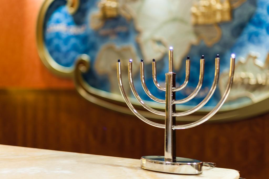 Hanukkah Menorah Day 3 Disney Fantasy Guest Services
