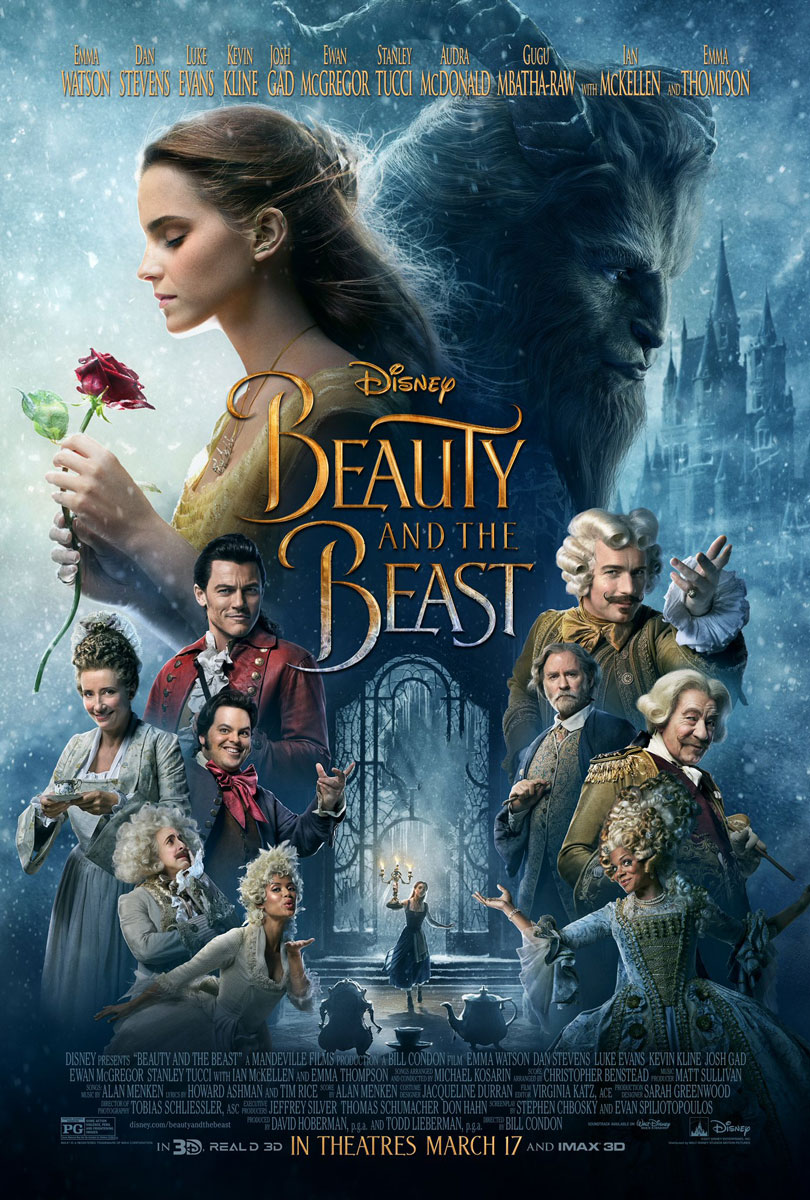 Beauty And The Beast 2017 Final Movie Poster