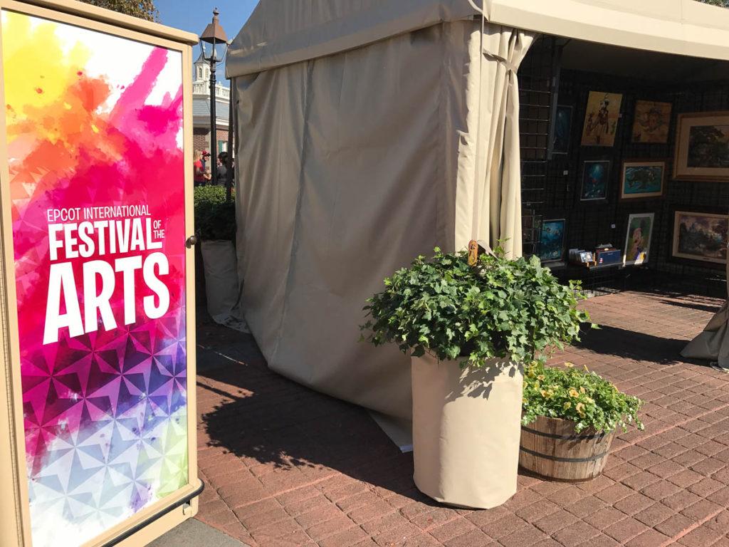 DCL Art Epcot Festival Tent IMG 8255