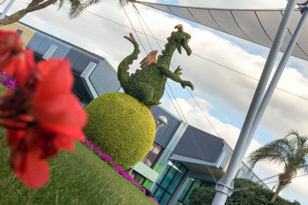 EPCOT Figment Topiary