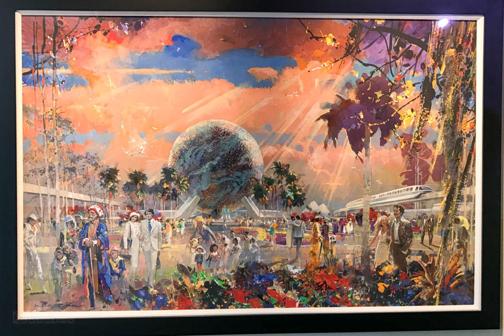 Herb Ryman Exhibit EPCOT Concept Art