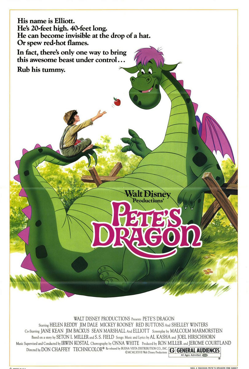 Pete's Dragon 1977 Movie Poster